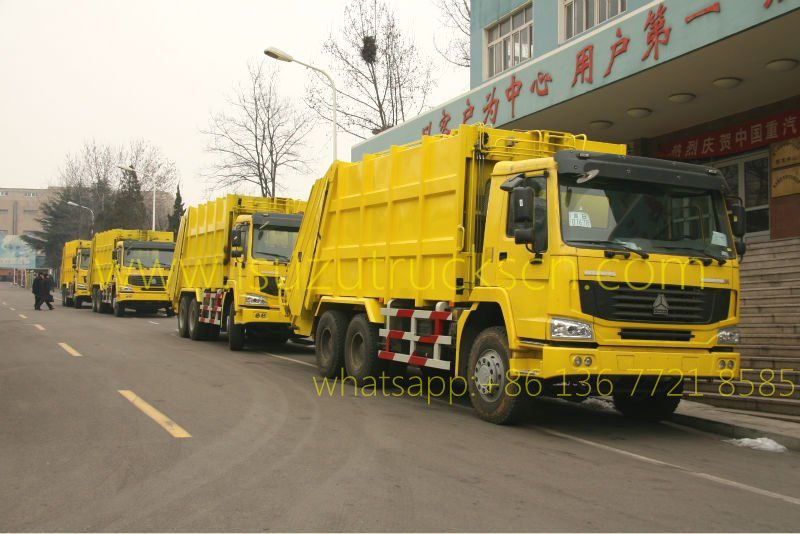 Refuse collector Garbage Compactor SINOTRUK (20 CBM) specification and pictures
