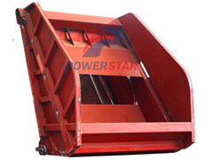 Refuse compactor parts Tailgate assembly