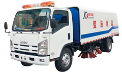 road sweeper isuzu elf