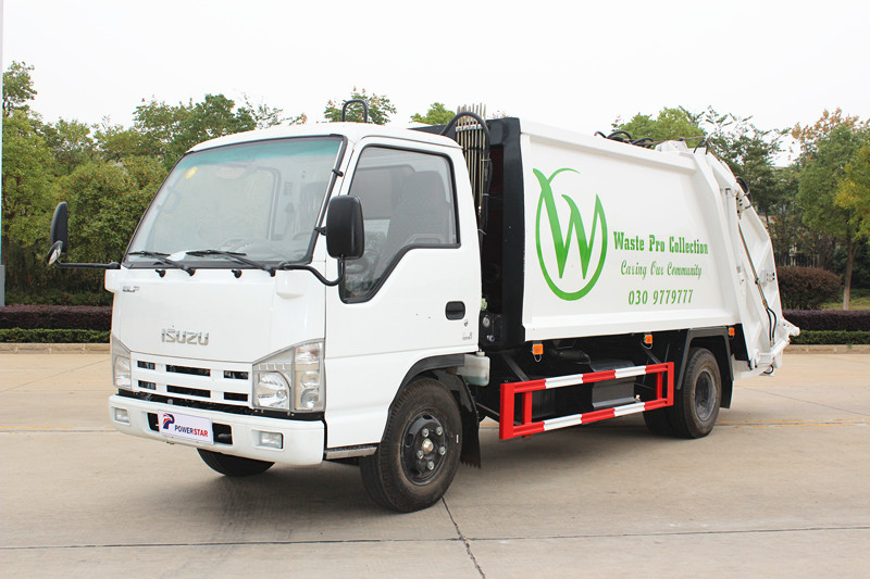 To Philippines 1unit Isuzu refuse compactor trucks