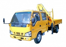 Japan Isuzu Knuckle Boom Truck Mounted Crane