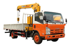 Lorry truck mounted crane Isuzu trucks with crane