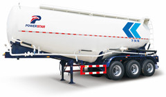 customer build 35000L bulk cement tanker semi trailer