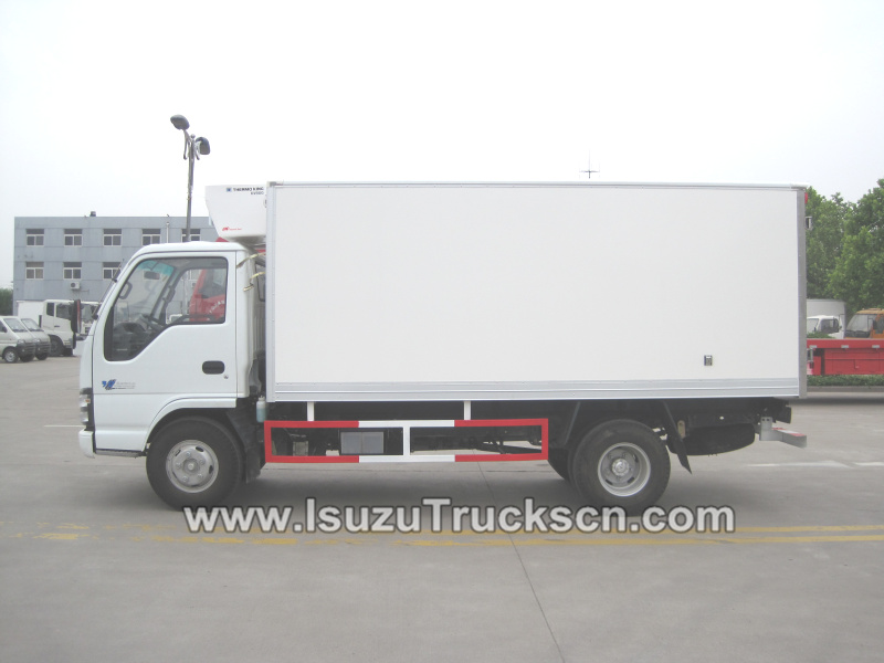 Right side picture for Refrigeration Truck Isuzu reefer trucks