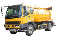 Vacuum Sewage Suction truck Isuzu trucks