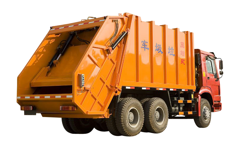 Isuzu Truck mounted solid waste compactors Powerstar sanitation garbage compactor