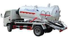 Waste water trucks Isuzu 4tons