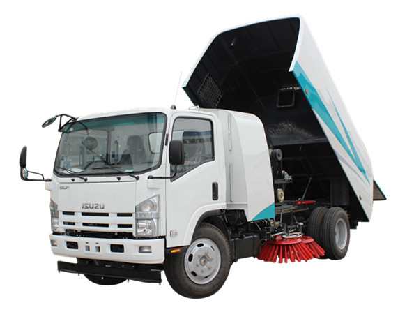 Myanmar Mechanical road sweeping vehicle for sale by powerstar