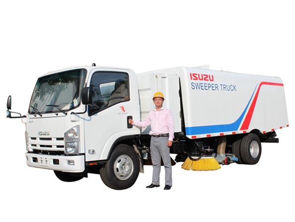 Japan KATO design Road Sweeper Trucks Isuzu by powerstar