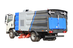 Brush road sweeper for Myanmar