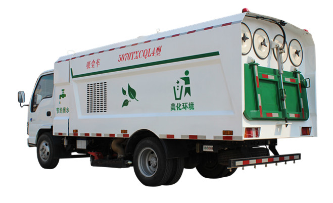 Vacuum Street cleaning sweeper manufacturer Powerstar trucks