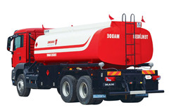Powerstar brand Isuzu Fuel Tank Truck Excellent Quality for Africa Market
