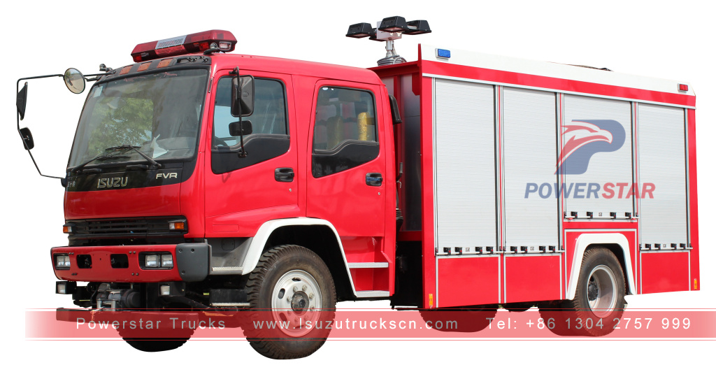 picture for Heavy Rescue Emergency Equipment Fire Vehicle Isuzu