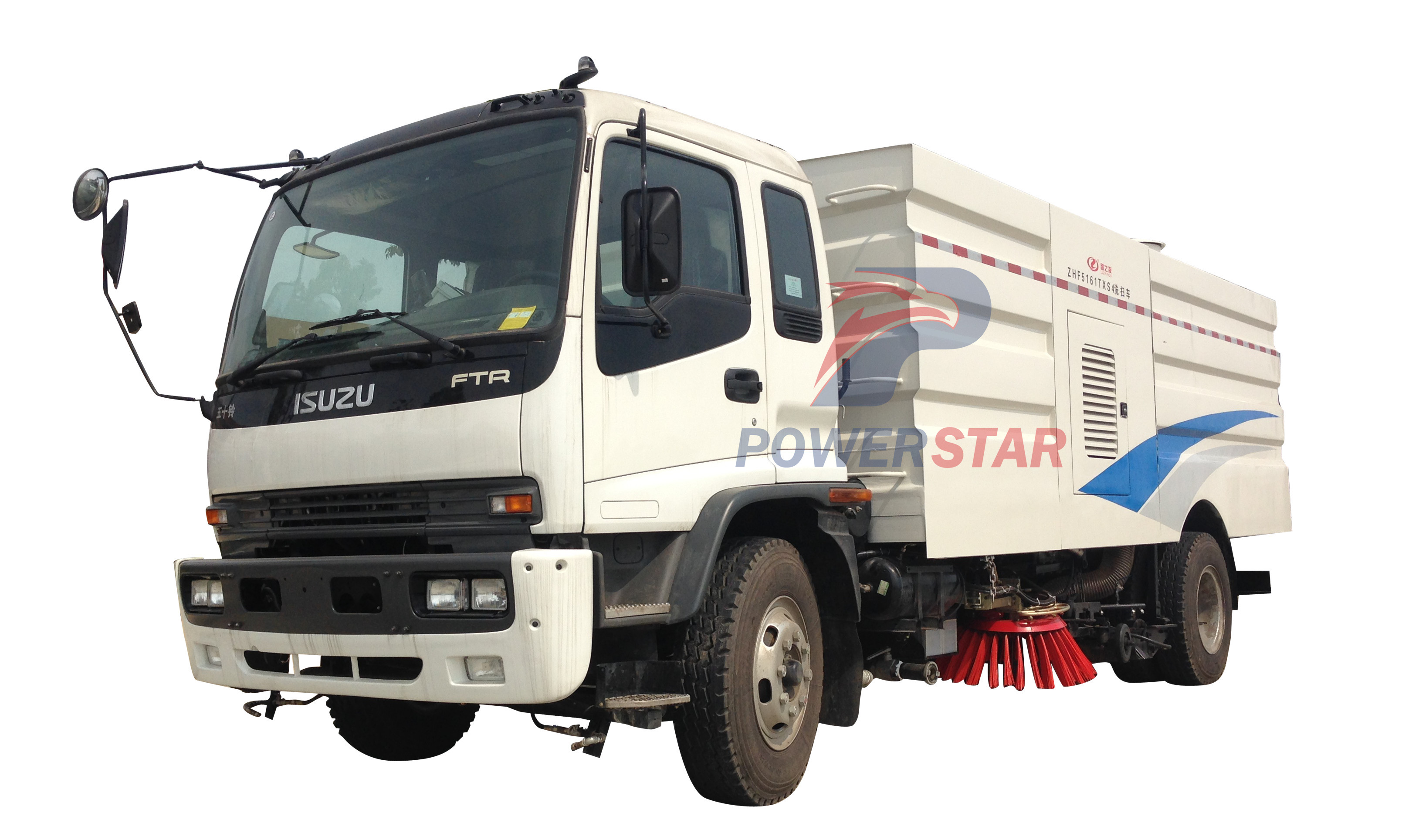 picture for Highways Cleaner Road Sweeper Truck Isuzu 15m3