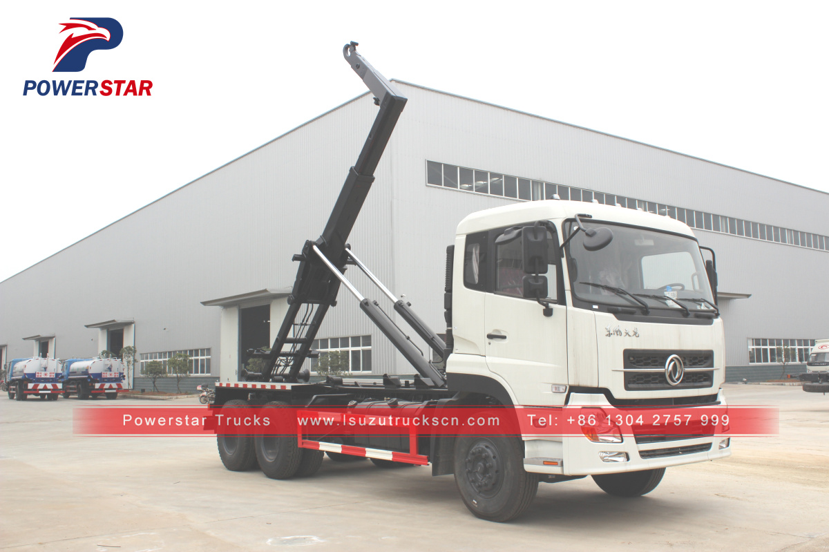 20Tons Togo Hooklift Refuse Collection Garbage Truck china for sale