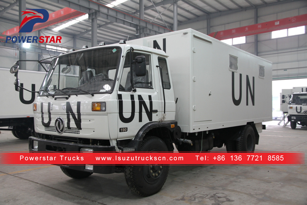 UN syria customer made emergency tank truck for sale