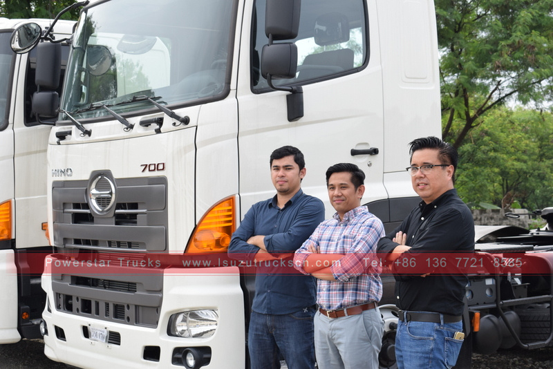myanmar 6X4 Tractor Head/Prime Mover hino for sale