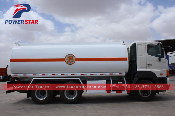 Japan GAC HINO700 Fuel Oil Delivery Tanker Truck 20,000L for sale