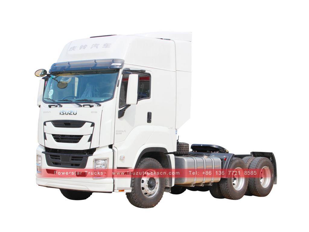 ISUZU GIGA Tractor Head Truck Prime Mover with 6UZ1 engine for sale