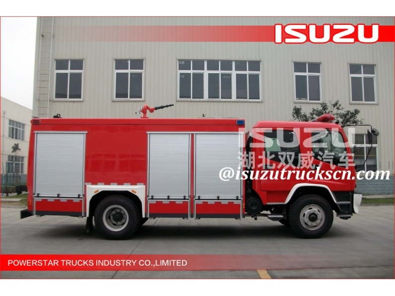 JAPANESE ISUZU CIVIL WATER FIRE TENDER TRUCKS