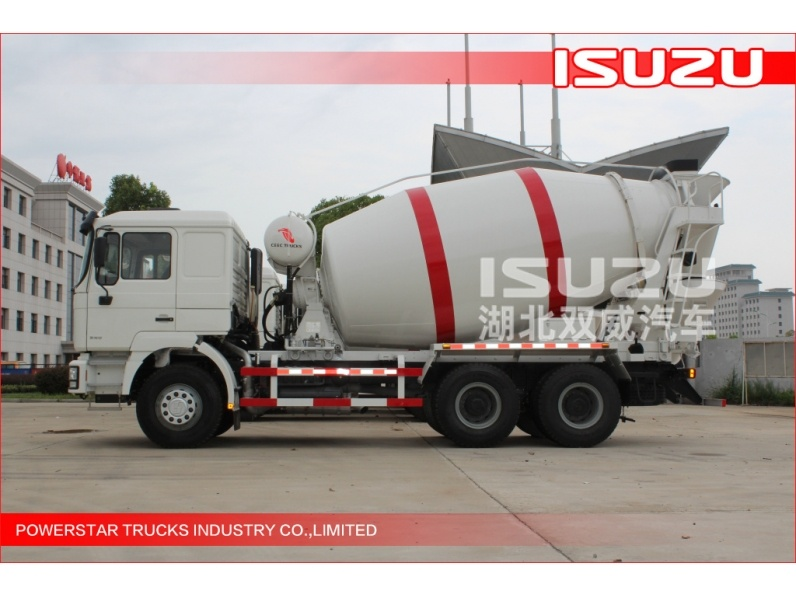 hot sale 6cbm Japanese Isuzu Chassis 6x4 Mixer trucks Isuzu engine