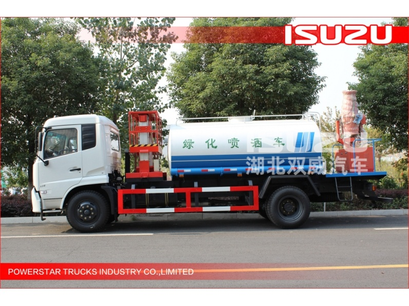 ISUZU water bowser truck, used watertank truck for sale, stainless steel water tank truck