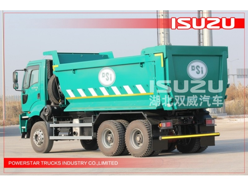 Japanese 25Tons ISUZU VC46 heavy duty Tipper truck Dumpers