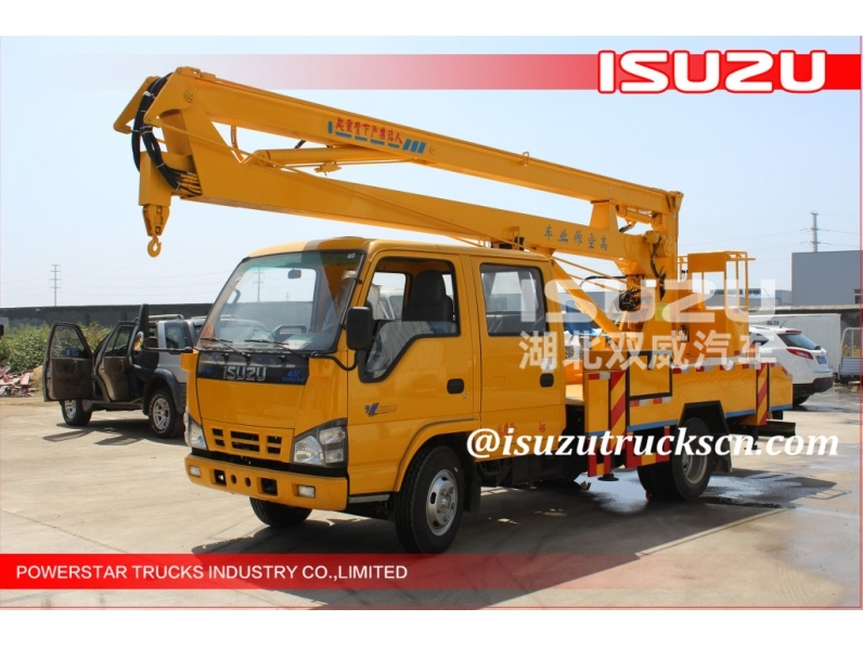 Asia 16m quality Isuzu Hydraulic Working Platform Vehicle