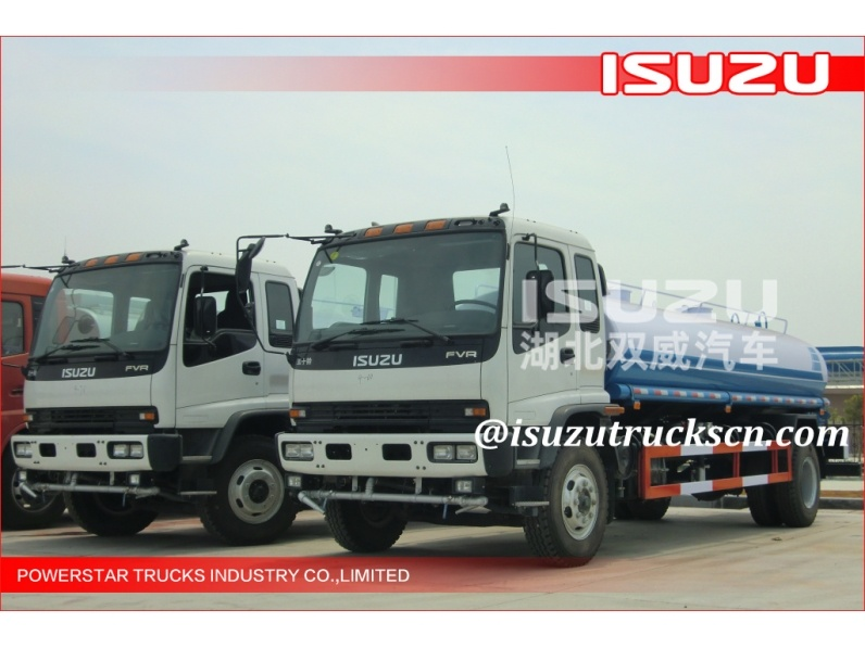 15000L Isuzu Water Tank Trucks/ City Clean Truck/Sprinking Truck for sale