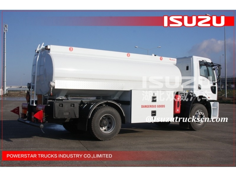 ISUZU 6X4 Aluminum Alloy Fuel Tank Truck for Diesel Oil Delivery