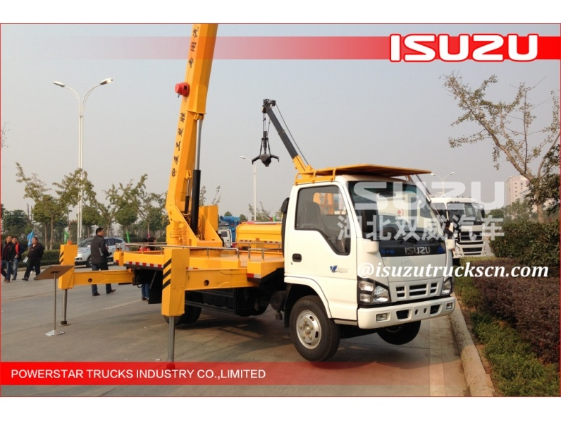 direct/high lifting platform truck aerial working platform truck