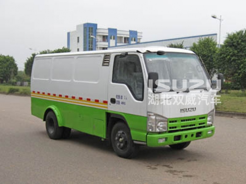 New generation China 5 ton Isuzu 4x2 mini van truck