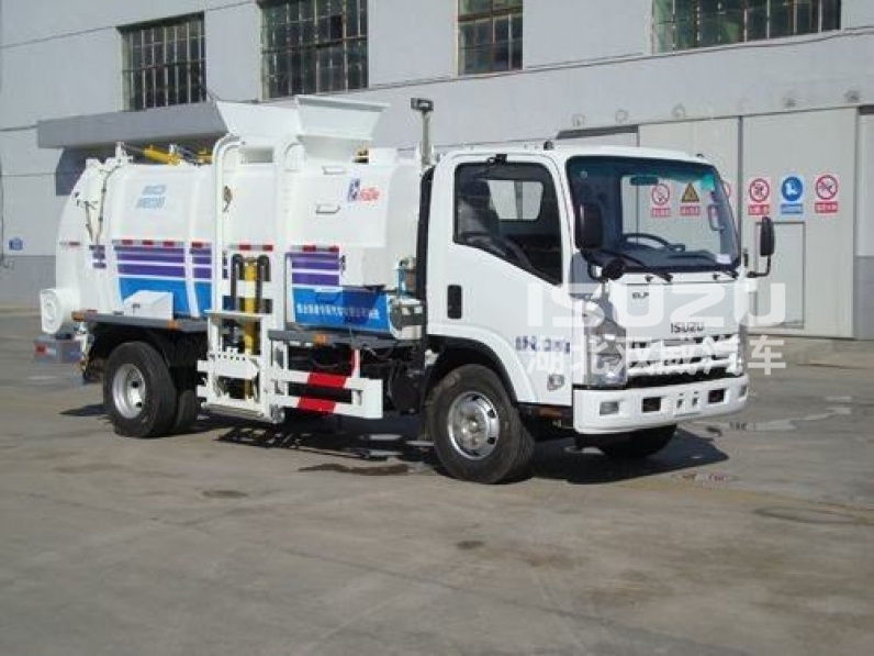 6000L isuzu High Quality Kitchen Garbage Truck