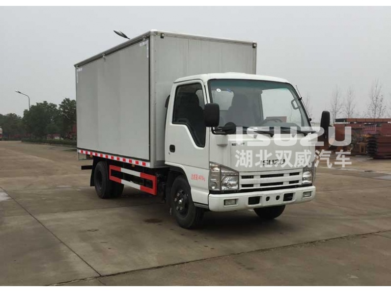 2/3 Axlesopen wing van truck for electric appliance/textile goods/coal/dinas transportation with open type optional