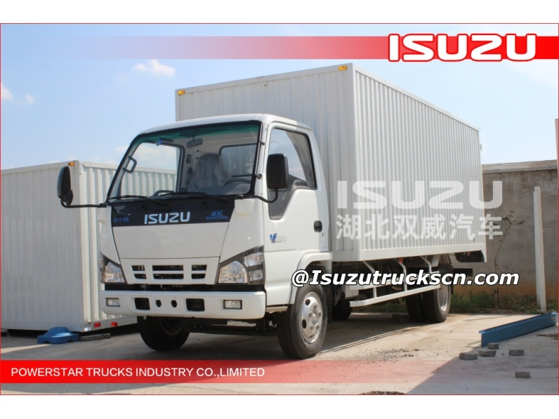 isuzu light trucks,6 wheelers cargo truck,3.5tons van cargo truck for sale,small cargo trucks