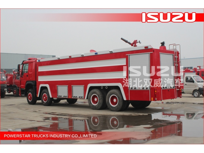 12 wheel ISUZU FYH truck fighting truck fire truck