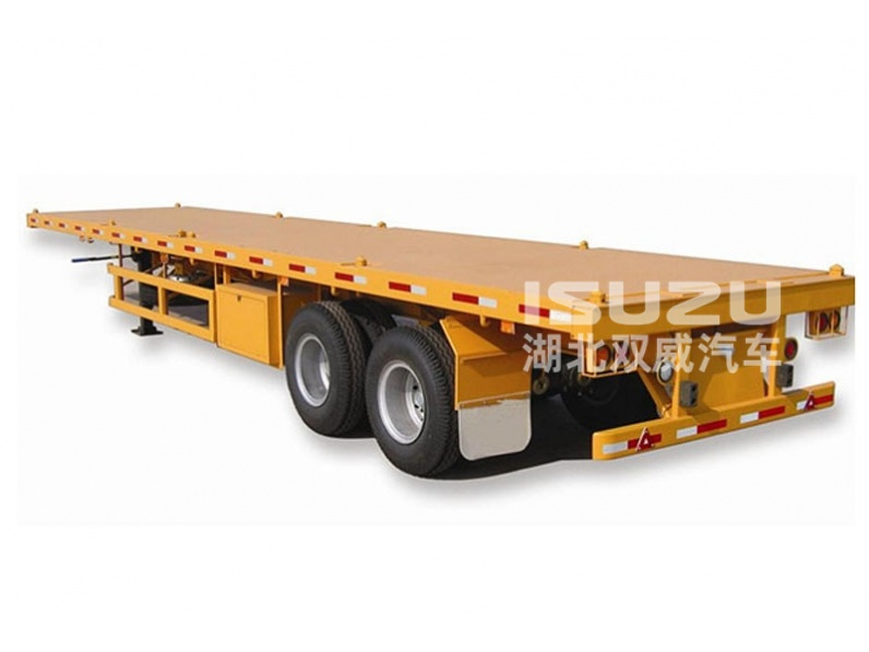 2axles & 3axles 20ft/ 40ft trailer for Shipping Container Trailers for Tractors