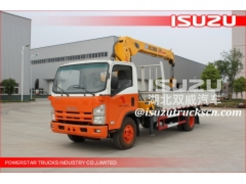 Rwanda custom made Lifting Boom Hydraulic Arm Truck Mounted Crane