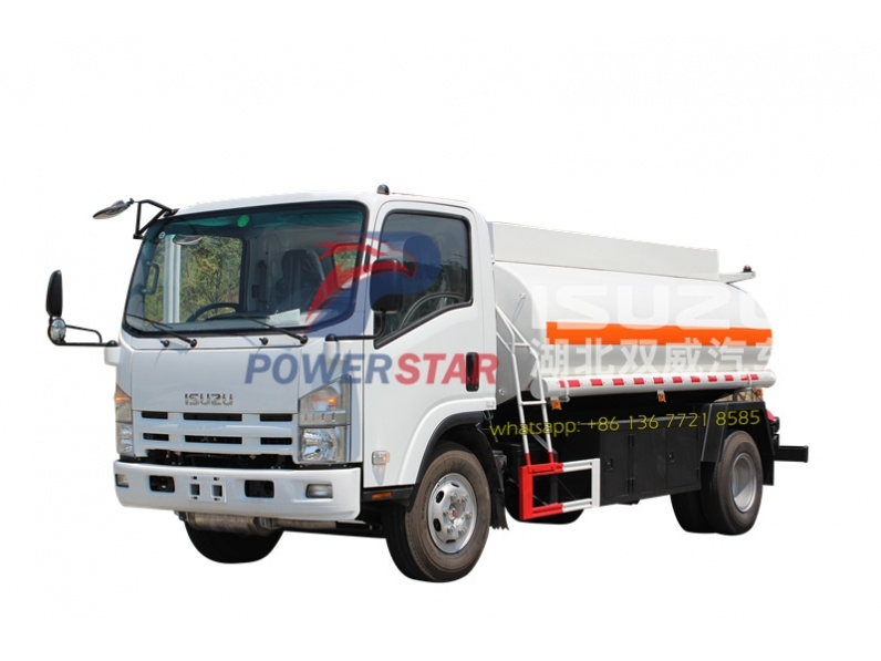 ISUZU 5 Cubic fuel transfer tanks truck