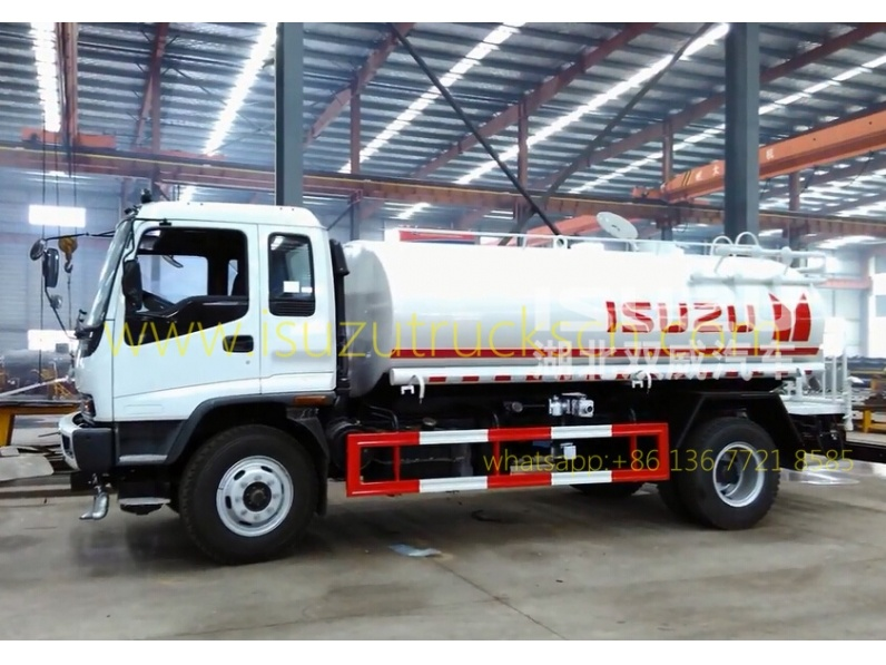 Japanese Water Cart Isuzu Watering Trucks for sale