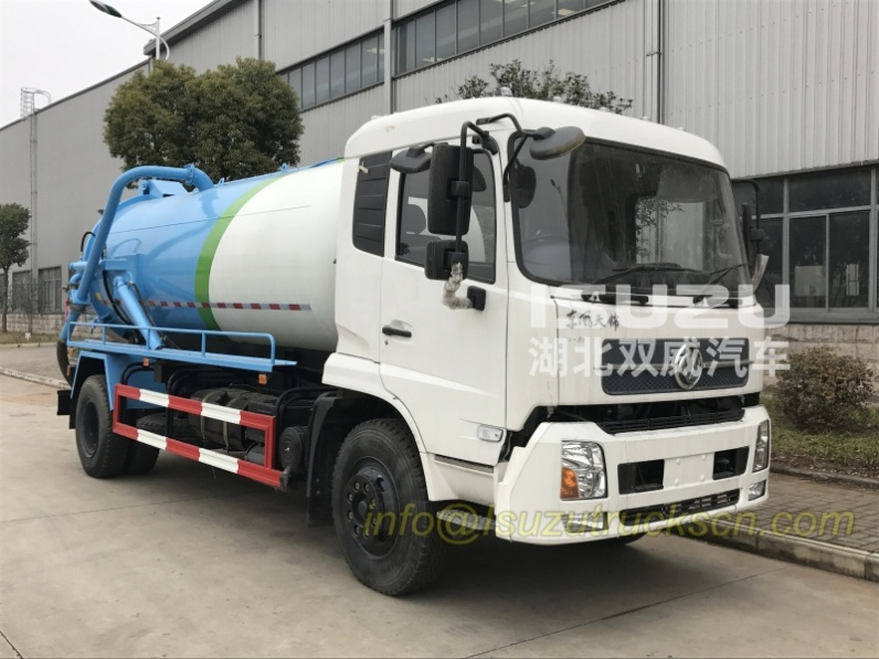 Sewage Vacuum Truck Dongfeng sewer cleaning truck