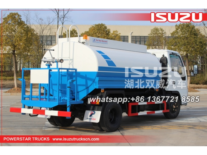POWERSTAR Water tanker bowser isuzu 5000L