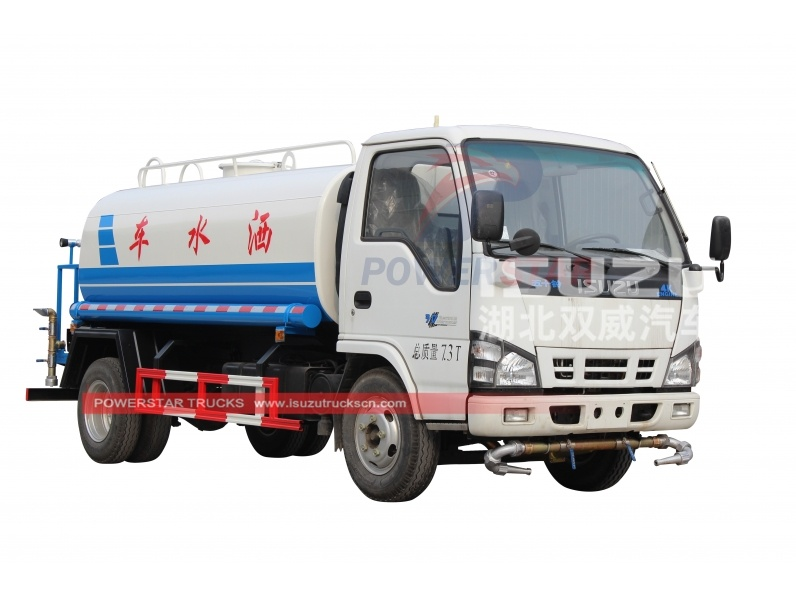 Powerstar water bowser Isuzu Sprinkling truck for sale