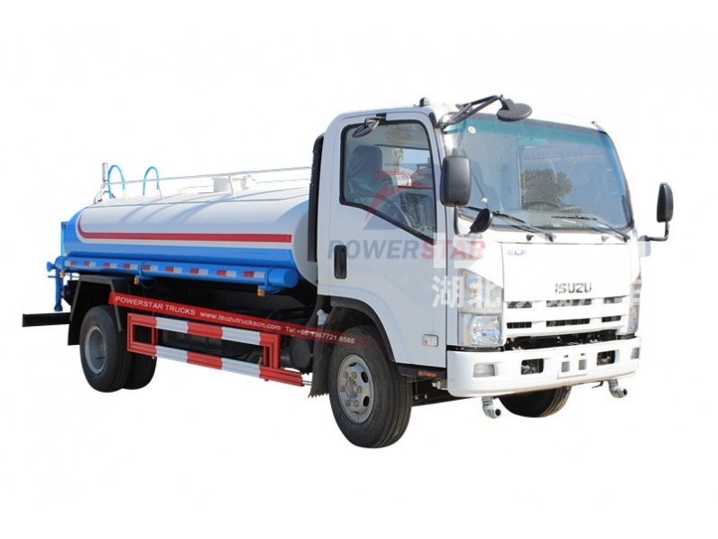 water sray truck ISUZU ELF 700P water transport truck