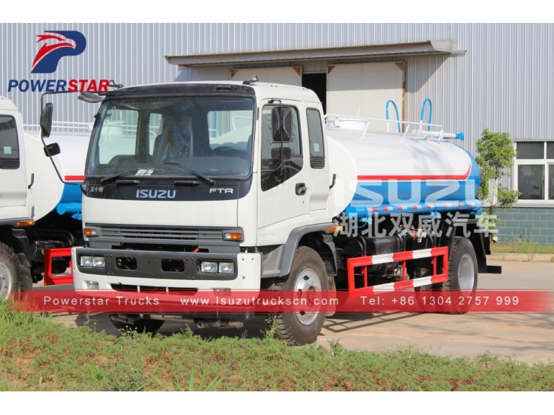 China Supplier Isuzu 4x2 Water Bowser Truck