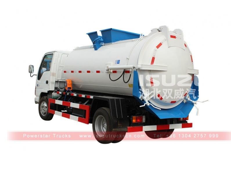 Vacuum Suction Vehicle Isuzu Japanese sewage truck for sale