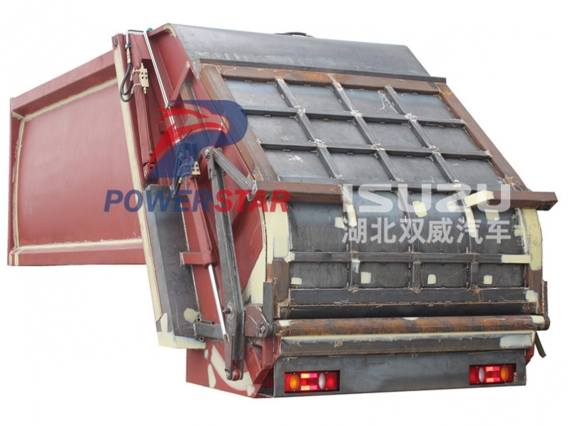 super structure kit for Environment garbage compactor truck