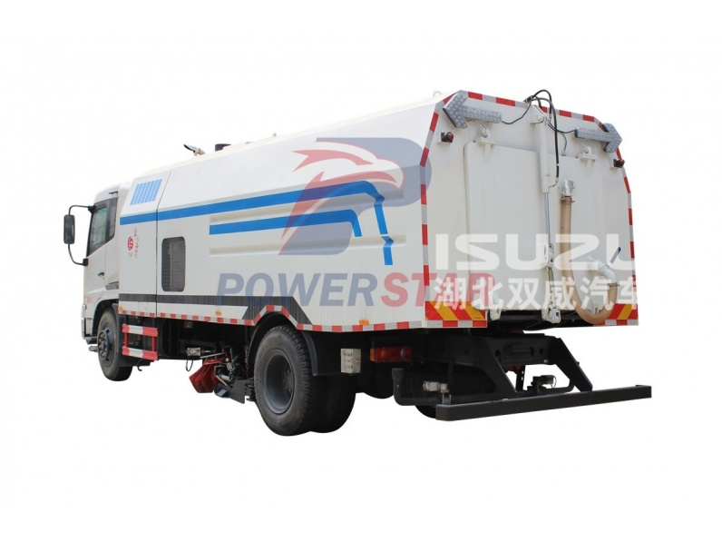 ISUZU FTR FVR multi functional road sweeper for sale