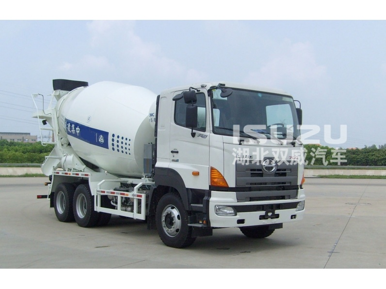 Original Japan Hino 700 Tranist Mixer Truck For Sale
