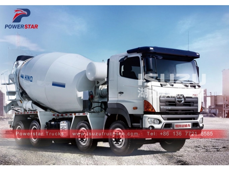 HINO 6X4 8 9 10 12 Cubic Meters Mix Transit Cement Concrete Truck Mixer